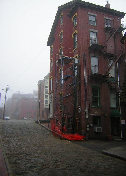 Exchange Street in Portland, Maine