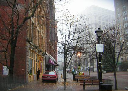 Monument Square in Portland, Maine