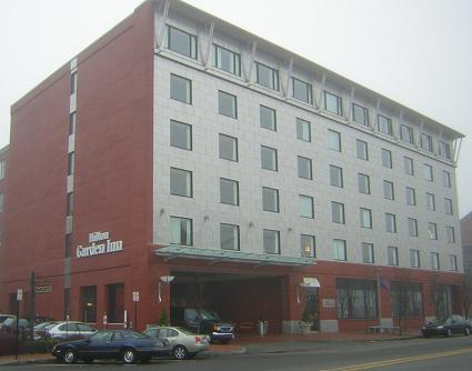 New Hilton in downtown Portland, Maine