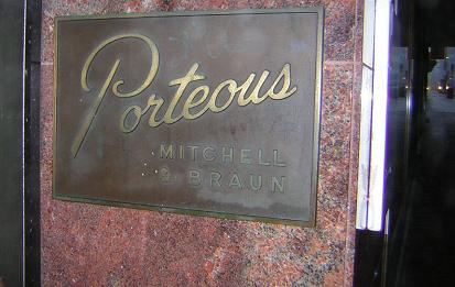 Porteous Sign